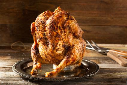 Kuře na plechovce piva