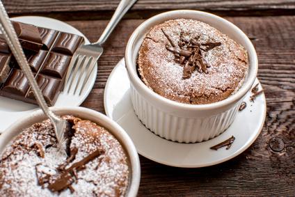 Čokoládové suflé