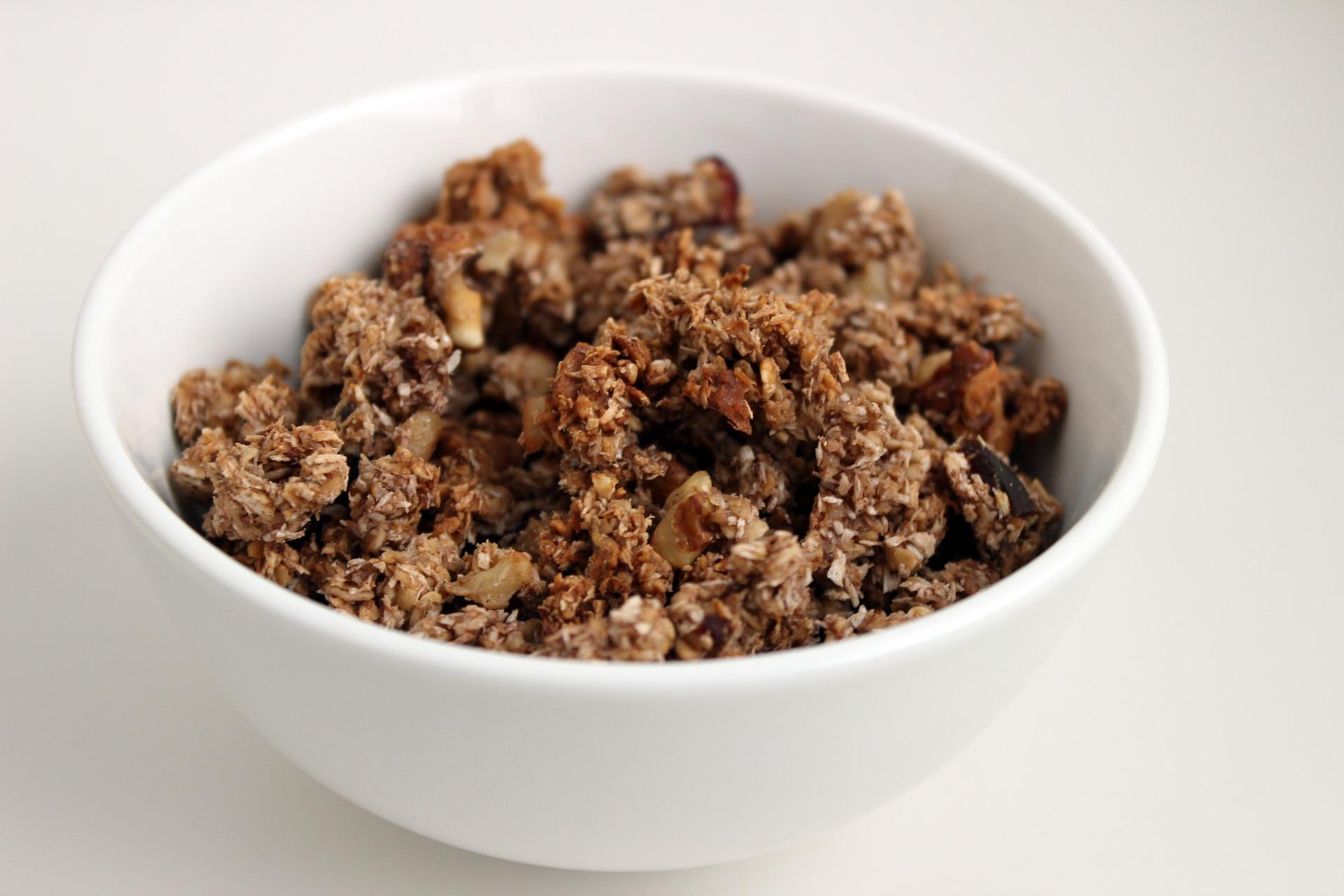Mandlová granola