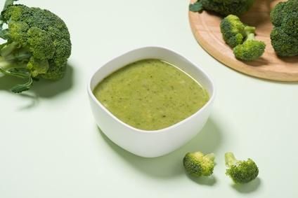 Brokolicová polévka pro děti