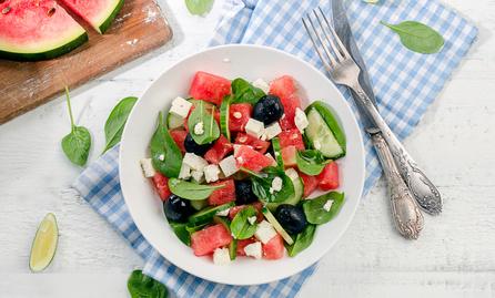 Letní melounový salát