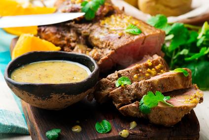 Dijonská marináda na vepřové maso