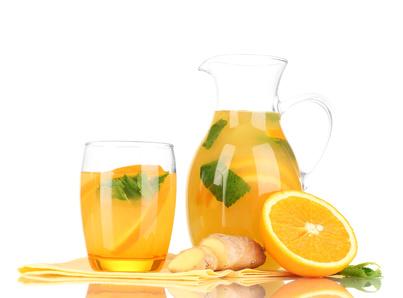 Domácí zázvorová limonáda