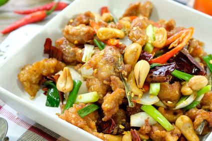 Kuřecí Kung Pao