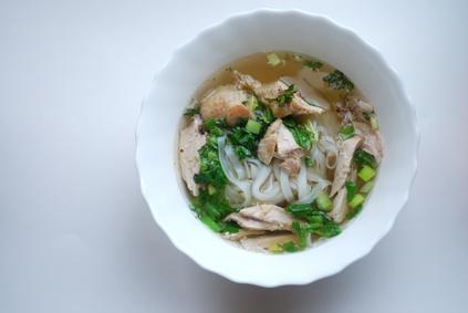 Vietnamská polévka Pho Ga