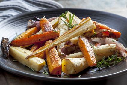 Pečená kořenová zelenina