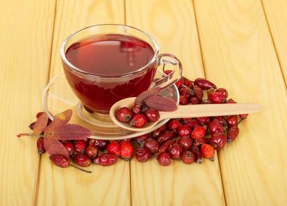 Šípkový čaj ze sušených šípků
