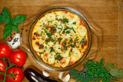 Vegetariánská musaka z brambor