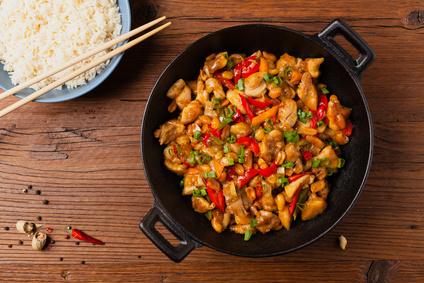 Kuřecí čína s rýží