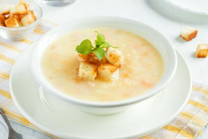 Krémová sýrová polévka