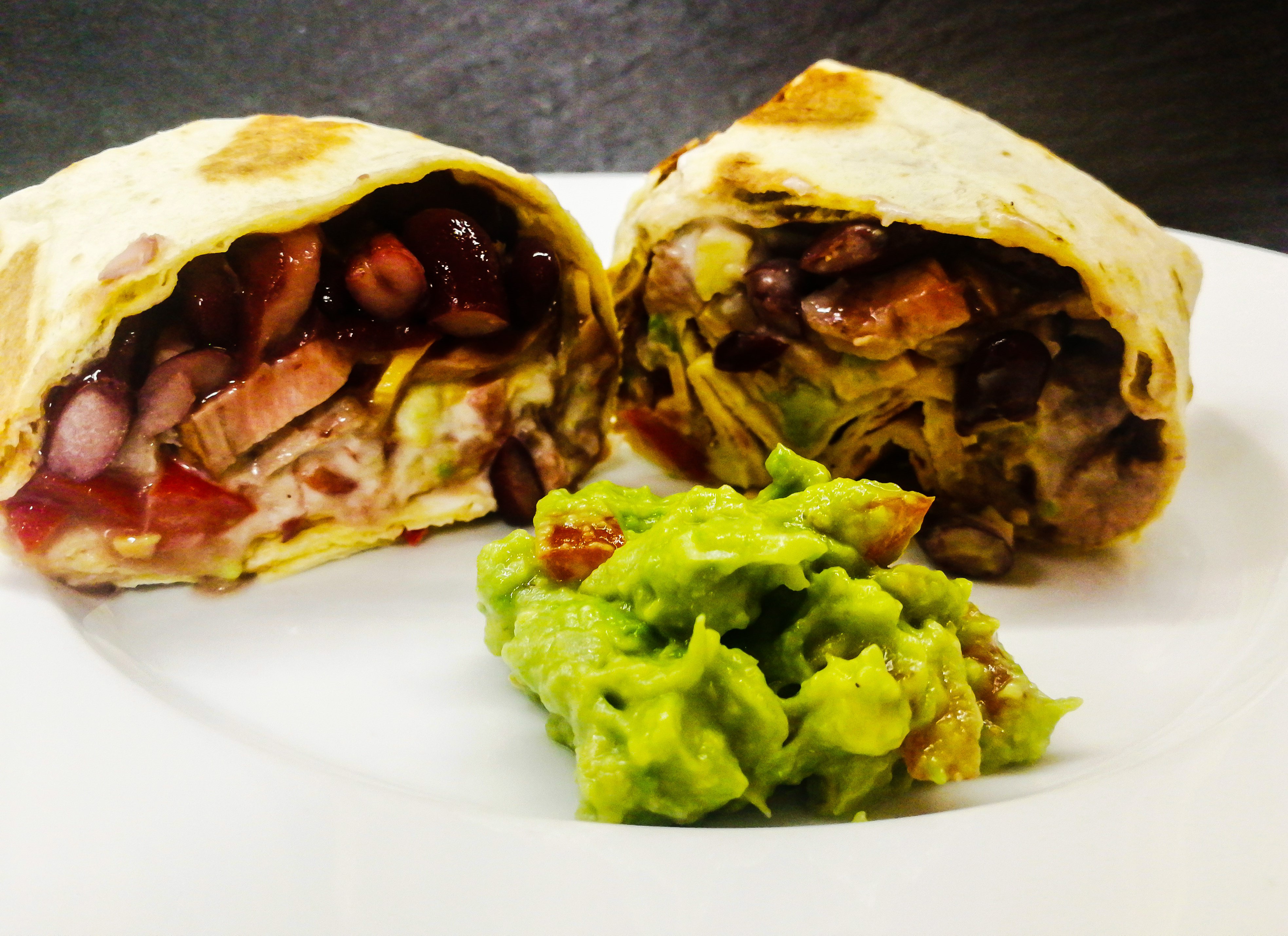 Mexické burrito s hovězím masem