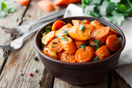 Karamelizovaná mrkev