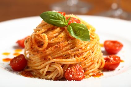 Špagety pomodoro