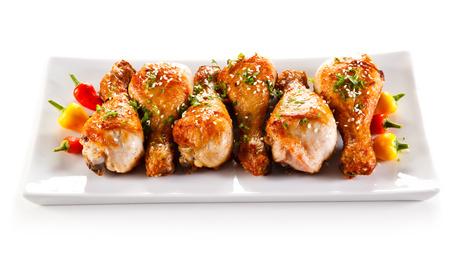 Pečené kuřecí paličky