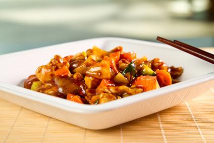 Čína zkrůtího masa
