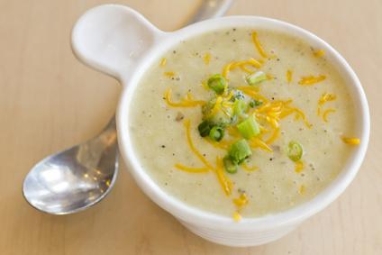 Bramborová polévka pro děti
