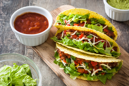 Tacos s mletým masem