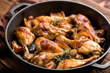 Kuře na rozmarýnu