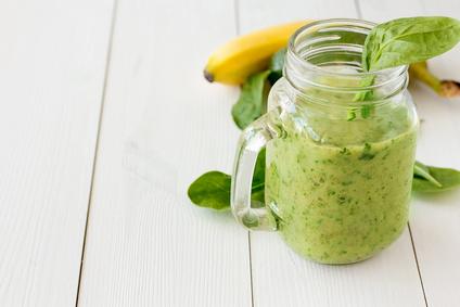 Detoxikační špenátové smoothie
