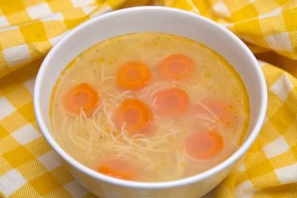 Kuřecí polévka pro děti