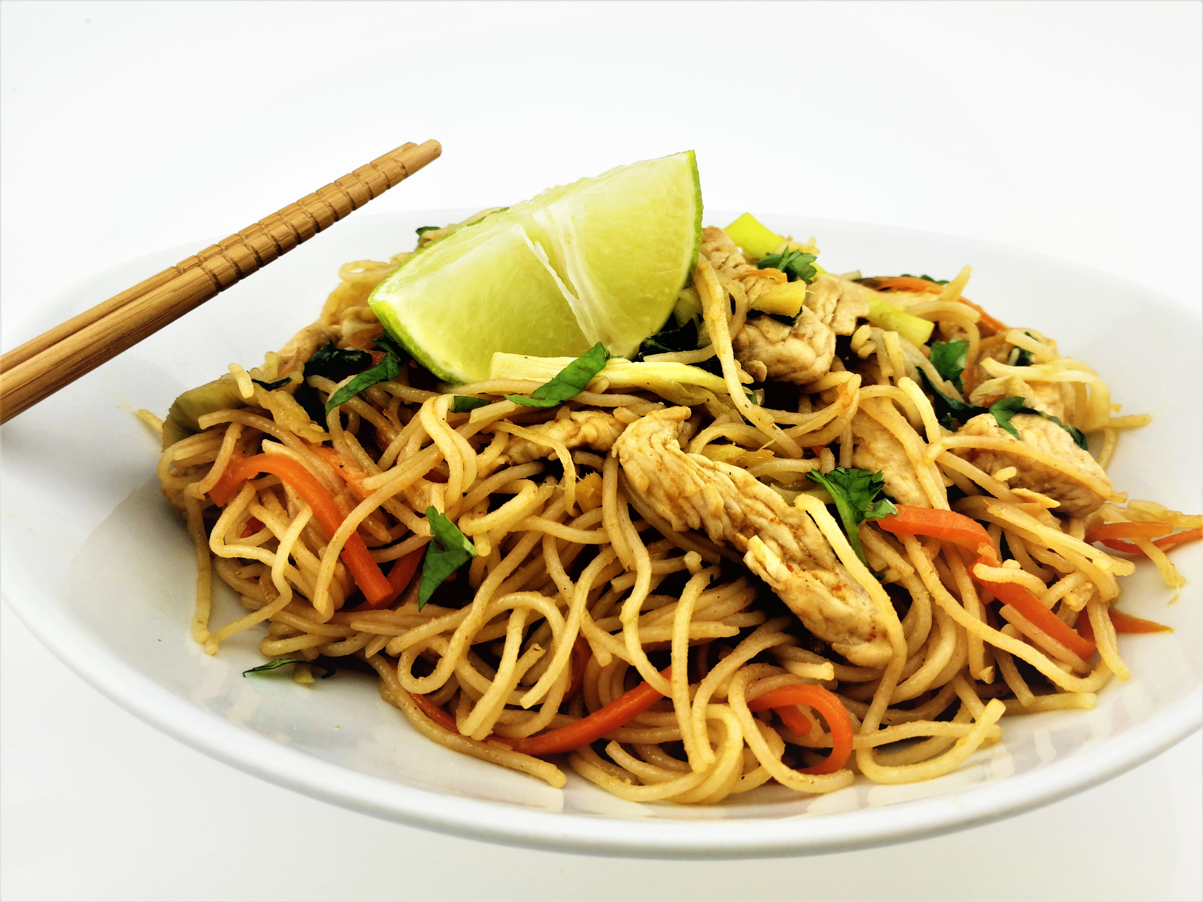 Restované rýžové nudle