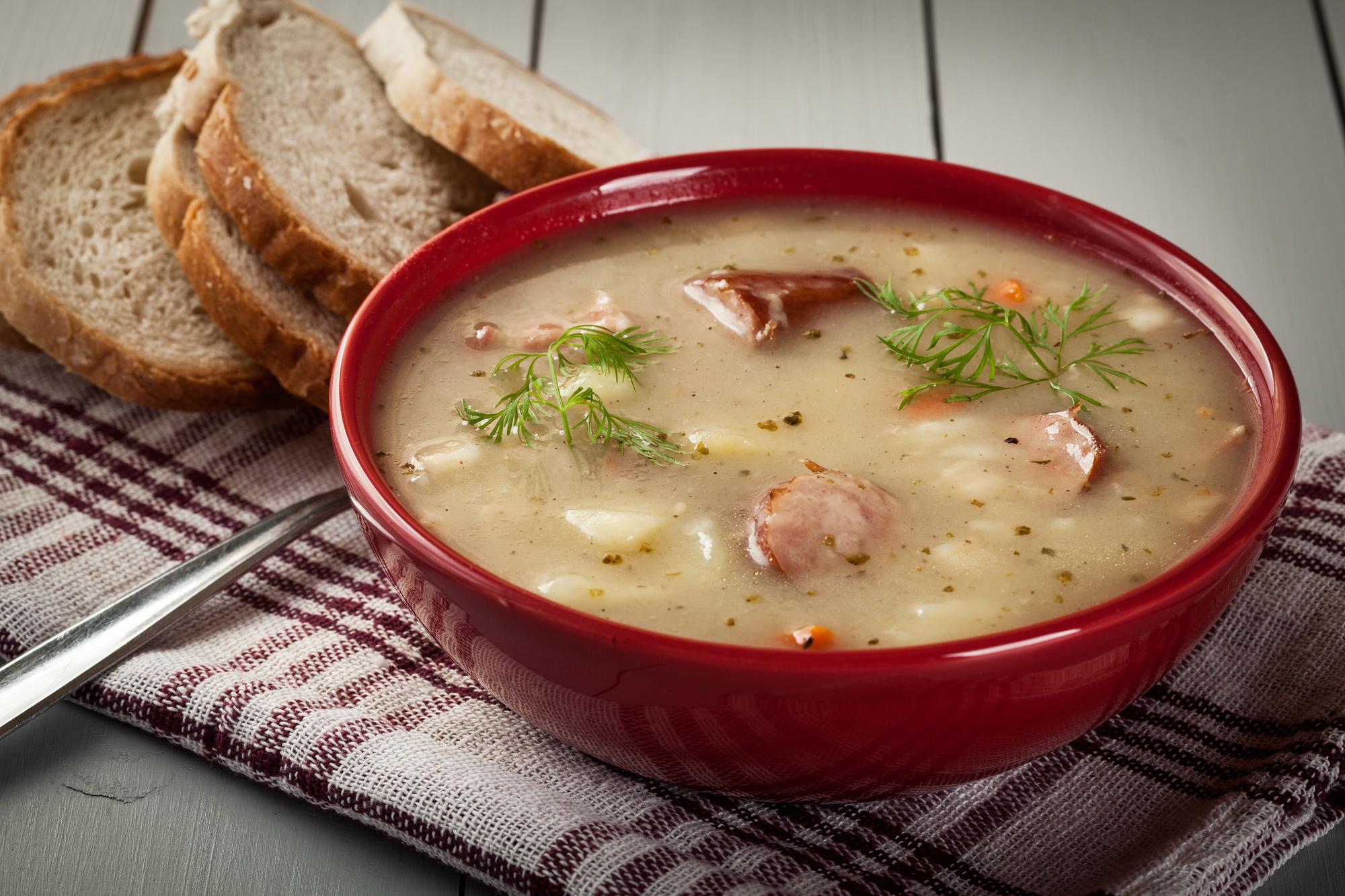 Polská polévka žurek