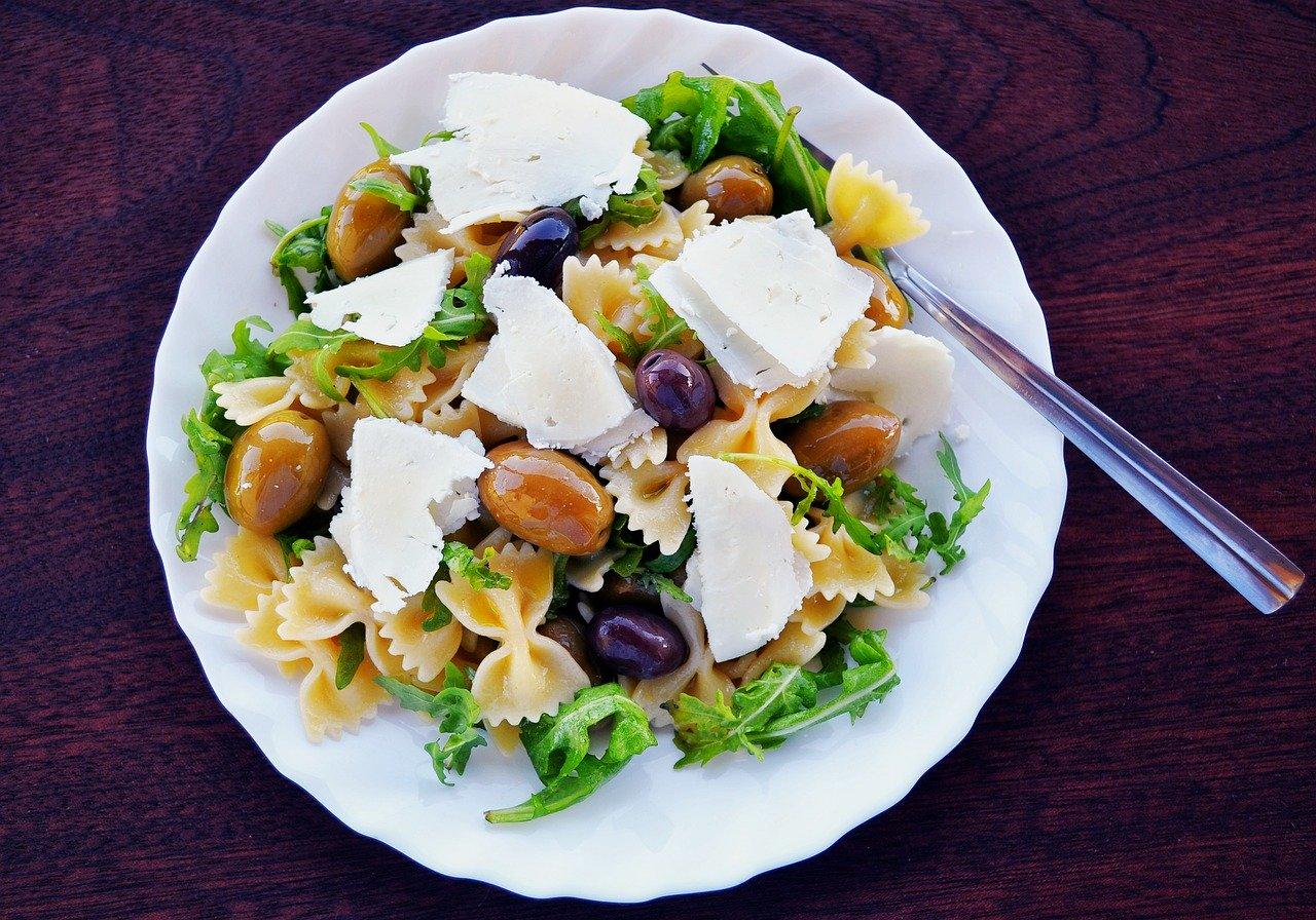 Těstovinový salát za studena